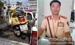 Cảnh sát giao thông đuổi bắt cướp như phim ở Sài Gòn