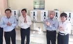 27 trường học ở Long An được trang bị hàng trăm máy lọc nước mới