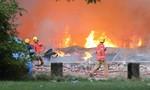 Cháy lớn tại nhà máy ở thành phố Manchester