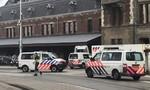 Đâm dao ở ga tàu tại Hà Lan, 3 người bị thương