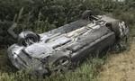 Clip Tổng thống Moldova bị thương vì tai nạn xe hơi