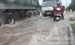 TP.Biên Hòa: Sáng ngập, trưa lại ngập gây ùn tắc nghiêm trọng