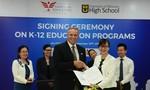 Ký thỏa thuận hợp tác luyện thi bằng tú tài trung học Hoa Kỳ tại Việt Nam