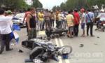 Xe máy tông nhau, 2 người tử vong, 1 người bị thương