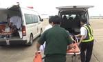 Điều trực thăng cấp cứu ngư dân gặp nạn ở Trường Sa