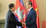 Thủ tướng Campuchia kể từng 5 lần được Chủ tịch nước Trần Đại Quang cắt tóc