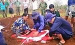 Cất bốc 33 bộ hài cốt liệt sỹ tại khu vực nông trường Dốc Miếu