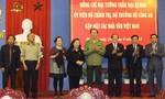 Bộ trưởng Trần Đại Quang với các nhà văn
