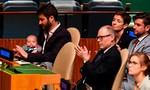 Bé gái 3 tháng tuổi dự họp Liên hiệp quốc