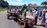 Tránh xe công nông dừng giữa đường, bị xe tải tông tử vong