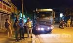 Hàng loạt xe ben chạy giờ cấm bị xử lý ở Sài Gòn