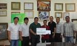 Trao hỗ trợ 100 triệu đồng cho Nhóm PCTP Tân Bình