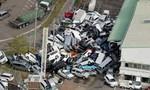 Chùm ảnh siêu bão Jebi tàn phá Nhật Bản