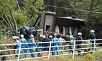 Động đất mạnh 6,7 độ richter gây lở đất ở Nhật