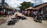 Hai xe máy cùng chiều va chạm mạnh, 1 người tử vong