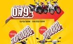 HD SAISON tặng 2 triệu đồng cho khách hàng mua xe Yamaha