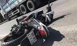 Người điều khiển xe máy tử vong sau cú va chạm xe tải