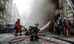 Nổ lớn ở trung tâm Paris, nhiều người bị thương