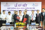Công ty Công Lý ký 2 hợp đồng mua bán điện