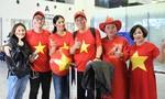 Hoa hậu Ngọc Hân, MC Phan Anh sang Dubai cổ vũ ĐTVN