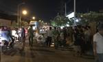 Người dân truy đuổi xe container cán chết người ở Sài Gòn