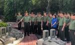 Tuổi trẻ Bộ Tư lệnh Cảnh vệ tri ân các anh hùng, liệt sỹ CAND
