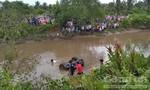 Phát hiện xe Mercedes dưới sông, 2 thanh niên và 1 phụ nữ mang thai tử vong
