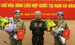 Thêm 2 sĩ quan làm nhiệm vụ gìn giữ hòa bình tại Nam Sudan