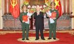 Thăng hàm Thượng tướng cho hai đồng chí Trần Quang Phương và Đỗ Căn