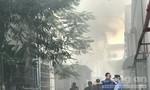 Cháy lớn trong khu chế xuất Linh Trung 1