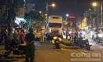 Tài xế chơi ma túy, lái container tông 2 người thương vong ở Sài Gòn