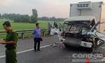 Húc đuôi xe tải trên cao tốc, tài xế và phụ xe đông lạnh tử vong