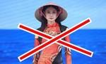 Nhà thiết kế Trung Quốc ăn cắp trắng trợn mẫu áo dài và nón lá Việt Nam
