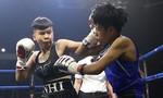Nữ võ sĩ Việt chỉ mất 16 giây hạ tay đấm boxing Thái Lan