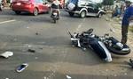 Hai xe máy không biển số đối đầu, 3 học sinh tử vong