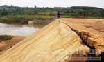 Công trình thủy lợi 23 tỷ đồng mới hoàn thành đã hư