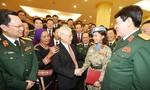 Quân đội nhân dân Việt Nam anh hùng vững bước dưới lá cờ vinh quang của Đảng