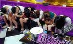 Lại bắt quả tang gần 60 dân chơi phê ma túy trong quán karaoke Luxury