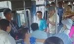 Điều tra hai đối tượng cầm dao lên xe buýt đe dọa tài xế