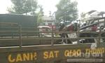 Xe máy va chạm xe container, một người tử vong thương tâm