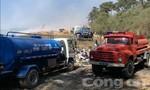Đà Lạt: Đã khống chế hoàn toàn vụ cháy ở bãi rác Cam Ly