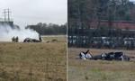 Máy bay rơi tại bãi đỗ xe ở Mỹ, ít nhất 5 người chết