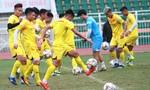 Quang Hải, Đình Trọng hăng say tập luyện trước giải U23 Châu Á
