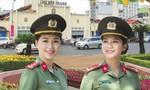 Gặp hai nữ sĩ quan trên ảnh bìa Báo xuân Công an TP.HCM