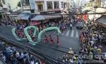 Tưng bừng lễ hội diễu hành đường phố của người Hoa ở Sài Gòn