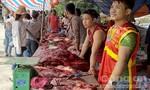 Tranh nhau mua thịt trâu chọi thắng trận bán gần 3 triệu/kg
