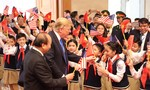 Thủ tướng Nguyễn Xuân Phúc đón tiếp Tổng thống Donald Trump