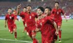 Đội tuyển Việt Nam xếp thứ 99 trên bảng xếp hạng FIFA