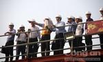 Bí thư Nguyễn Thiện Nhân thị sát công trình chống ngập 10.000 tỷ đồng