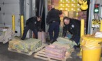 Mỹ thu giữ 1,5 tấn ma túy trị giá gần 80 triệu USD